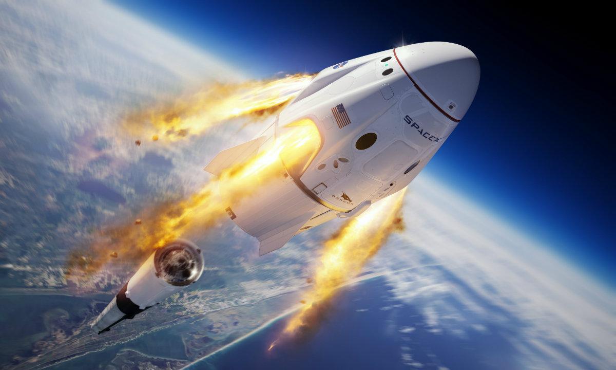 SpaceX成功发射!十年磨一剑,美国载人航天事业开启新篇章