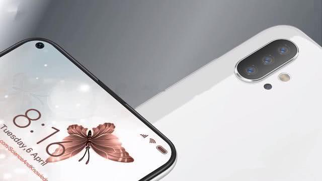 小米10概念图:正面屏幕挖孔,后置四摄像极了华为P30Pro